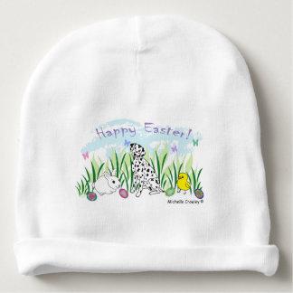 dalmatian baby beanie