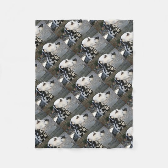 Dalmatian - Cindy's Reina Fleece Blanket
