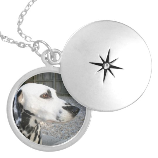 Dalmatian - Cindy's Reina Locket Necklace