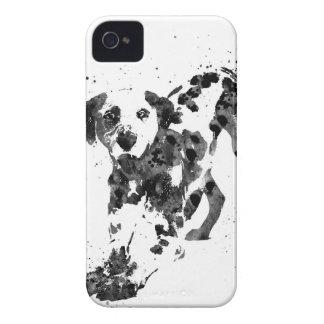 Dalmatian, Dalmatian dog, watercolor Dalmatian iPhone 4 Case-Mate Case