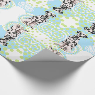 Dalmatian Doctor Dog with Stethoscope and Glasses Wrapping Paper
