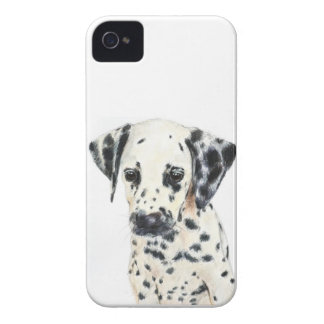Dalmatian Dog Art iPhone 4 Cover