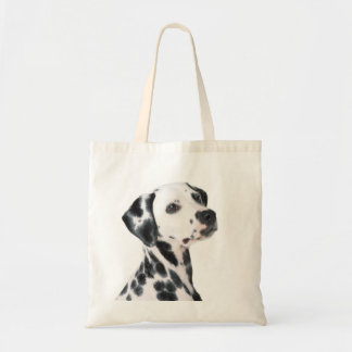 Dalmatian dog beautiful photo, gift tote bag