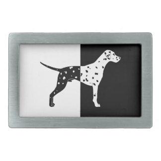 Dalmatian dog belt buckles