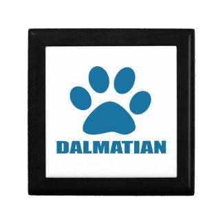DALMATIAN DOG DESIGNS GIFT BOX