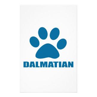 DALMATIAN DOG DESIGNS STATIONERY