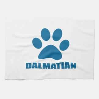 DALMATIAN DOG DESIGNS TEA TOWEL