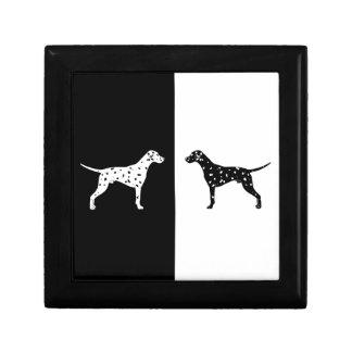 Dalmatian dog gift box