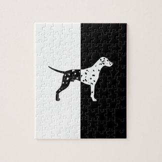 Dalmatian dog jigsaw puzzle