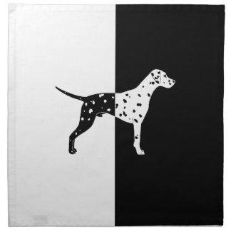 Dalmatian dog napkin