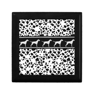 Dalmatian dog pattern gift box