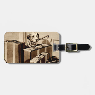 Dalmatian Dog Puppy Suitcase Revelation Luggage Bag Tags