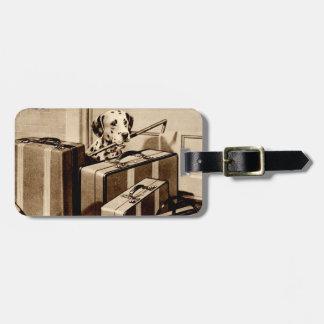 Dalmatian Dog Puppy Suitcase Revelation Luggage Luggage Tag