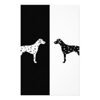Dalmatian dog stationery