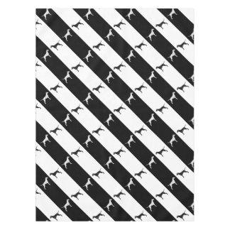 Dalmatian dog tablecloth