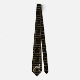 Dalmatian Elegance Tie