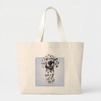 Dalmatian Large Tote Bag