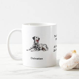 Dalmatian Mug - With two images and a motif