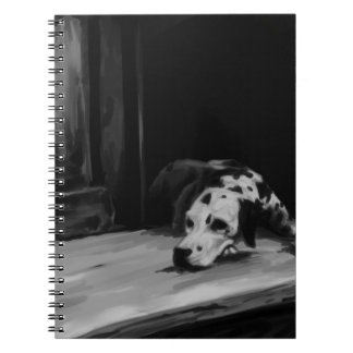 Dalmatian Painting Notebook