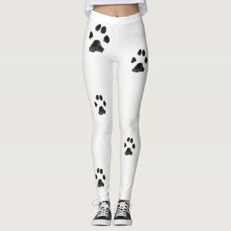 Dalmatian Paws Leggings