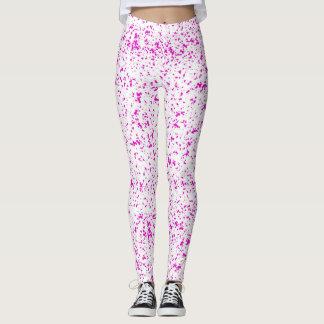 Dalmatian Pink Spotted Leggings