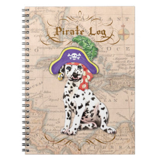 Dalmatian Pirate Notebook