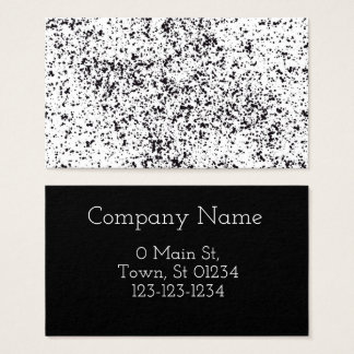 Dalmatian Print Design Business Cards