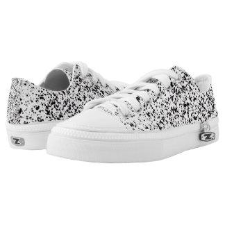 Dalmatian Print Low Tops Printed Shoes
