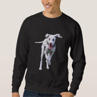 Dalmatian puppy dog mens sweatshirt, gift idea sweatshirt