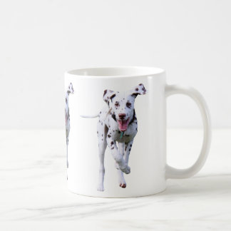 Dalmatian puppy dog mug, gift idea coffee mug