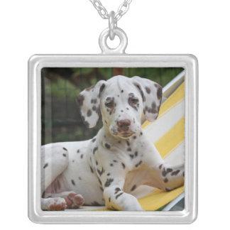Dalmatian puppy dog necklace gift idea