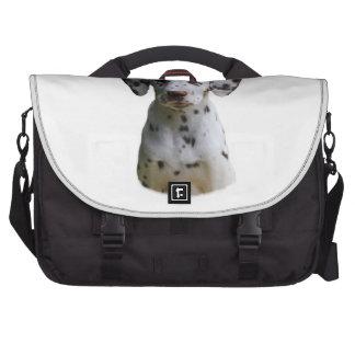 Dalmatian puppy dog photo laptop computer bag
