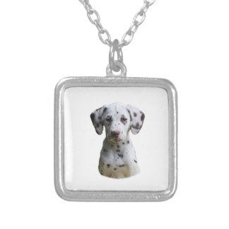 Dalmatian puppy dog photo pendant