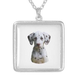 Dalmatian puppy dog photo pendants