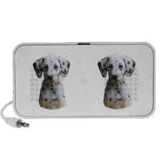 Dalmatian puppy dog photo travel speaker