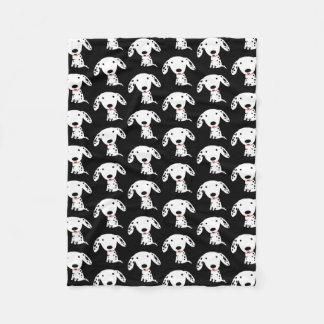 Dalmatian Puppy Pattern Fleece Blanket