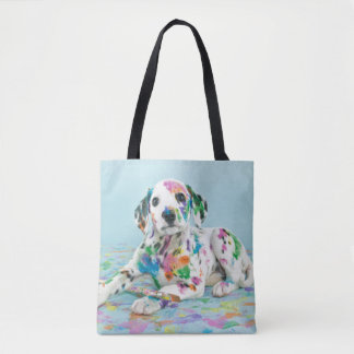 Dalmatian Puppy Tote Bag