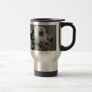 Dalmatian Smiling Travel Mug