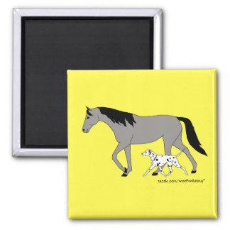 Dalmatian & TWH Magnet