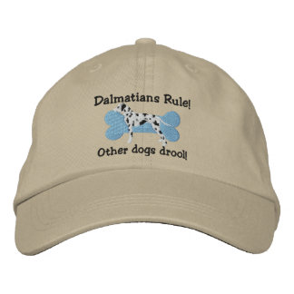 Dalmatians Rule Embroidered Hat