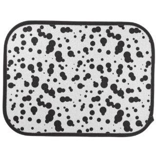 Dalmatine Dots Pattern Car Mat