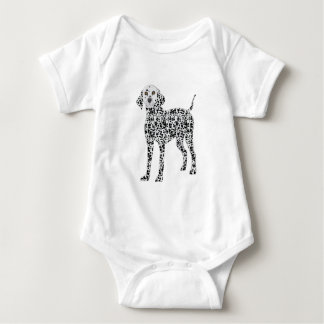 Dalmation Baby Bodysuit