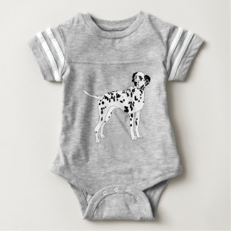 Dalmation Dog Baby Bodysuit