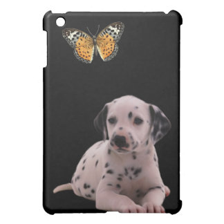 Dalmation Dog & Butterfly iPad Mini Cases