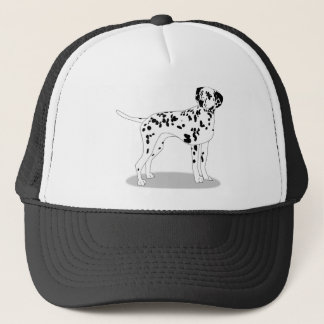 Dalmation Dog Trucker Hat