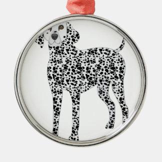 Dalmation Metal Ornament