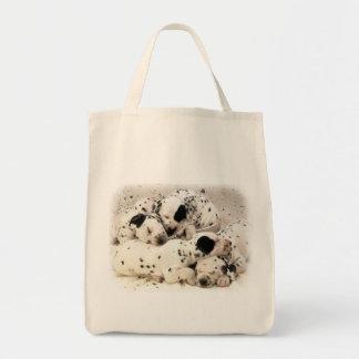 Dalmation Puppies Tote Bag