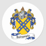 DALRYMPLE FAMILY CREST -  DALRYMPLE COAT OF ARMS STICKERS