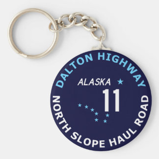 Dalton Highway, North Slope Haul Road Key Ring