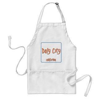 Daly City California BlueBox Adult Apron